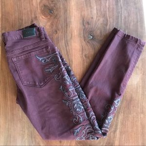 Urban Outfitters BDG embroidered twig jeans